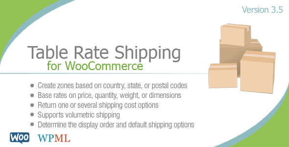 7.14. Table Rate Shipping for WooCommerce