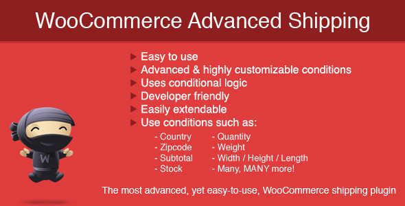 7.15. WooCommerce Advanced Shipping