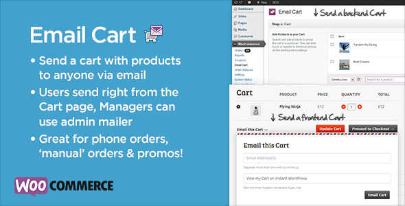 8.2. Email Cart for WooCommerce