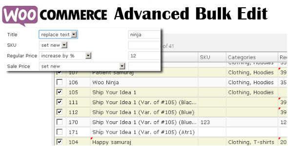9.6. WooCommerce Advanced Bulk Edit