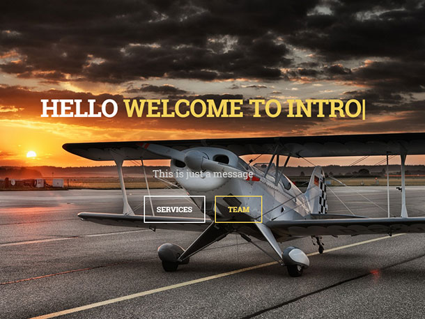 Intro-wordpress-theme