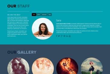 4 OnePage free WordPress šablony