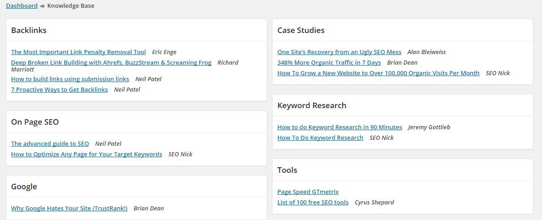 znalostní databáze