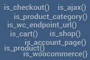 Podmiňovací tagy ve WooCommerce