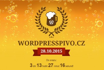 Další WordPress pivo bude 20.1.