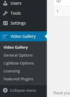 youtube-gallery-setting