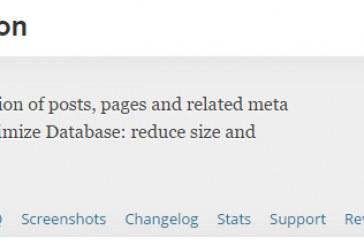 Odstranění revizí článků z databáze