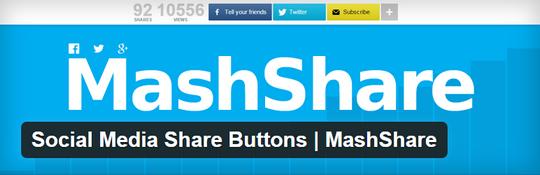 Mashare WordPress plugin