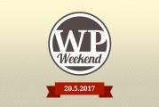 Pro vývojáře: Pozvánka na WP Weekend (20.5. 2017)
