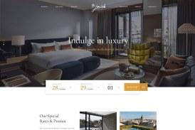 Haven: Luxusní prémiová šablona pro hotely a ubytování