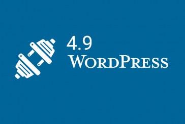 WordPress 4.9 by měl dorazit 14. listopadu