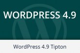 WordPress 4.9. Tipton