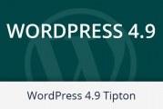 WordPress 4.9. Tipton