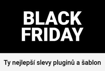 Black Friday – jaké pluginy a šablony letos výhodně?
