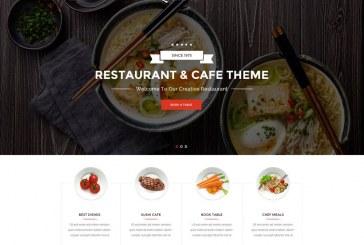 Nejlepší WordPress šablony pro restauranty a kavárny