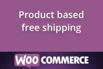 Doprava zdarma na základě produktu v košíku WooCommerce