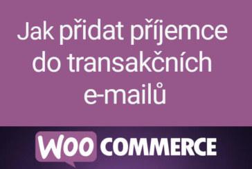 Zasílání kopií zákaznických e-mailů ve WooCommerce