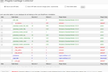 Garbage collector – úklid v databázi WordPressu