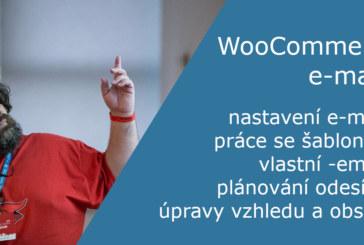 Webinář – e-maily ve WooCommerce