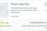 Seznam všech velikostí náhledových obrázků