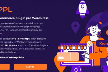 Doprava a propojení PPL pro WooCommerce
